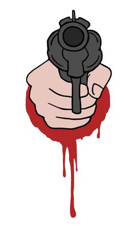 murder scene: crime icon