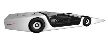 aerodynamics: Future prototype car
