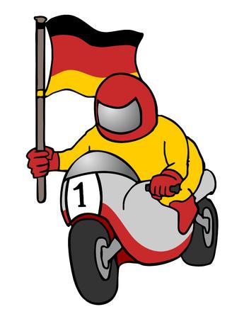 gp: german motorcycle