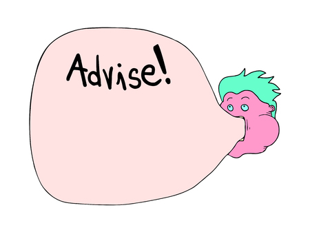 advise: advise message