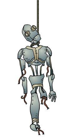 obsolescence: broken robot