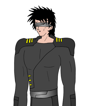 unifrom: future fashion man