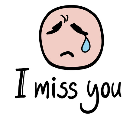 miss you face royalty free cliparts vectors and stock rh 123rf com miss you clipart pictures miss you clipart pictures
