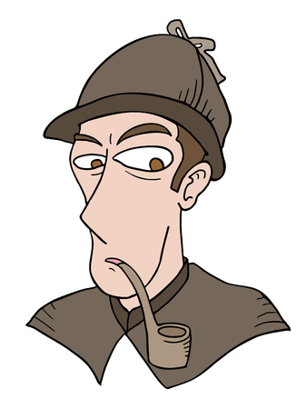 observing: detective face