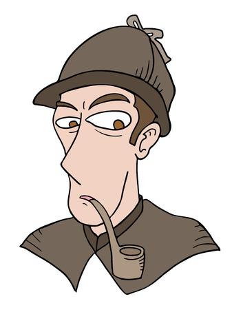 detective face