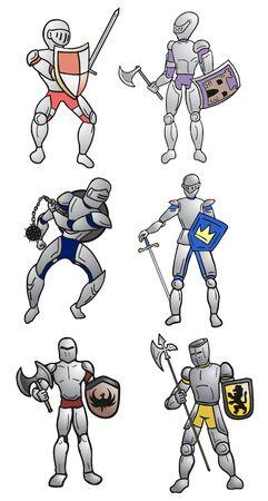 warriors: medieval warriors