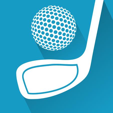 putter: golf symbol