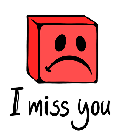miss: miss you face
