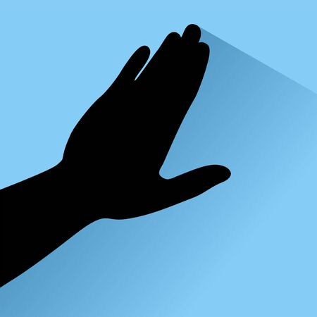 touch: touch hand Illustration