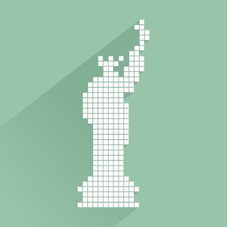 liberty statue: Liberty statue symbol
