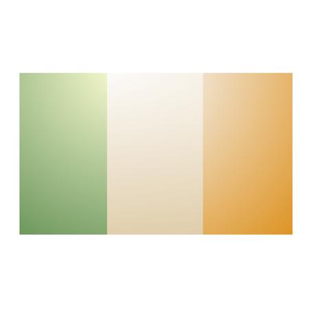 ireland flag: Ireland flag Illustration
