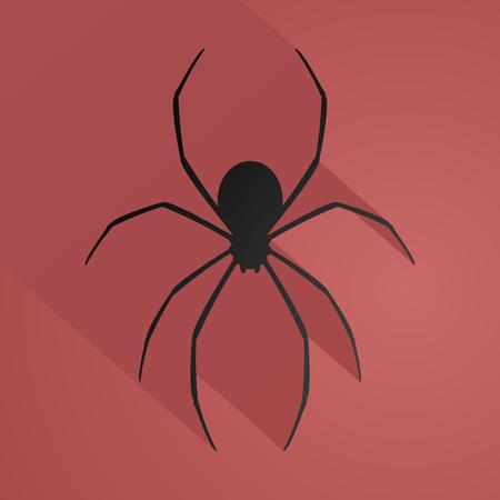 latrodectus: fear spider illustration