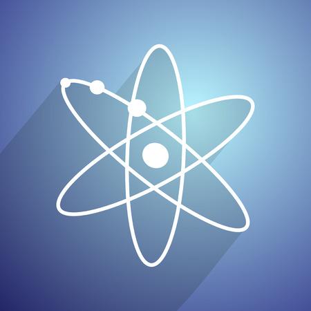 atomic: imaginative atomic symbol Illustration