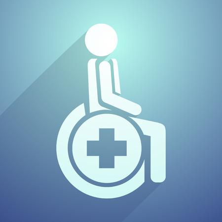 paraplegico: símbolo de la salud