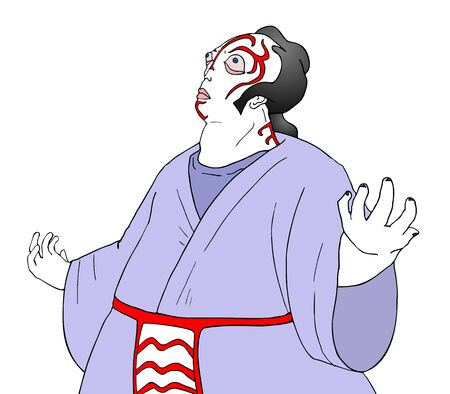kabuki: kabuki theater character