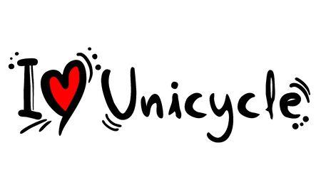 unicycle: Unicycle love