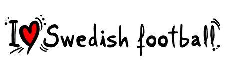 swedish: Swedish football love