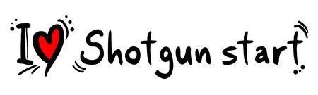 fusil de chasse: amour de d�part Shotgun