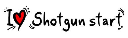 shotgun: Shotgun start love