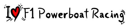 f1: F1 Powerboat Racing love