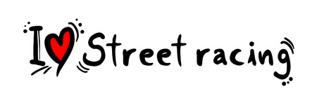 street racing: Street racing love