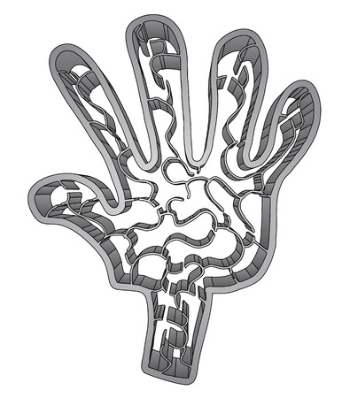 creative: creative hand