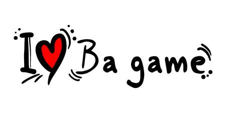 ba: Ba game love Illustration