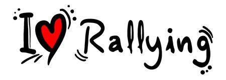 rallying: Rallying love