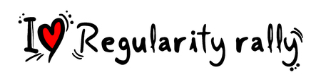 regularity: Regularity rally love Illustration