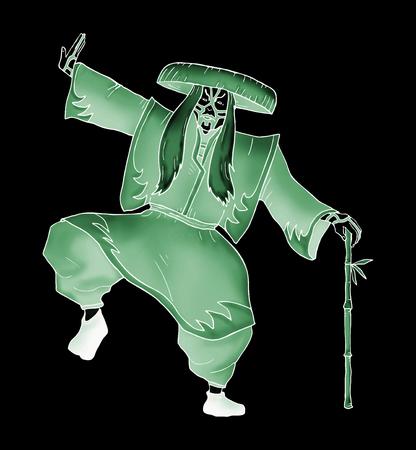 kabuki: imaginative Kabuki character