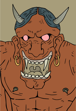 agony: demon draw Illustration