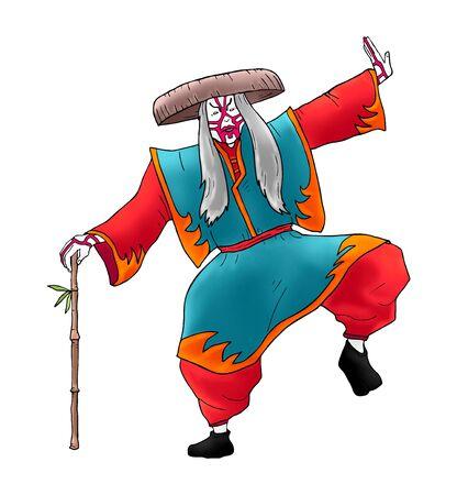 kabuki: Kabuki character draw