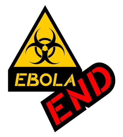 high end: end ebola symbol