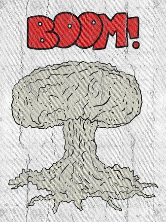 bombe atomique: Bombe atomique Banque d'images