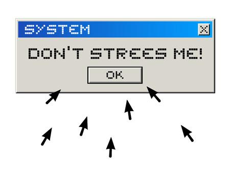 computer message: creative computer message Illustration