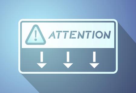 attention symbol: attention symbol