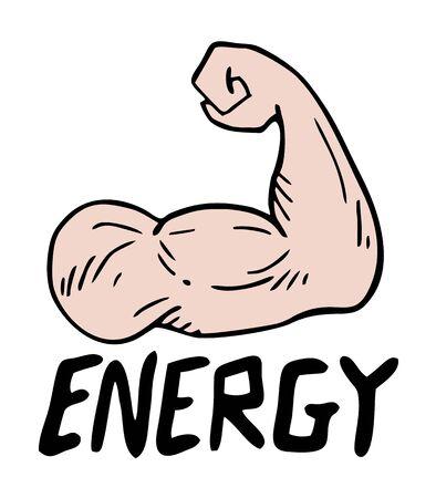 arm: gym arm Illustration