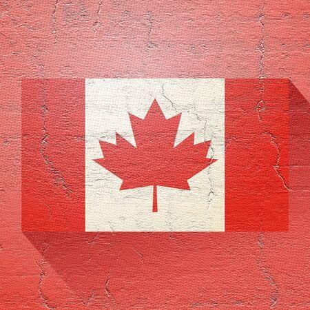 canadian flag: old canadian flag