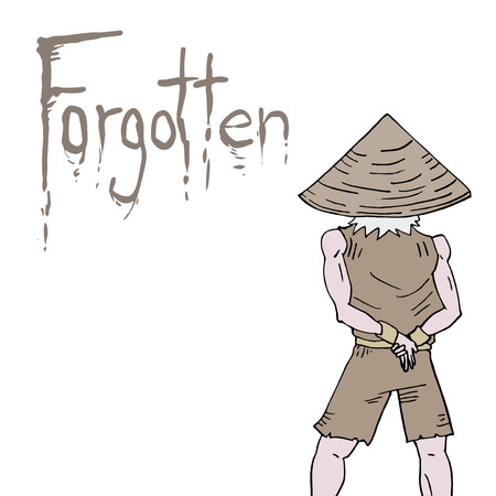 forgotten: forgotten message Illustration