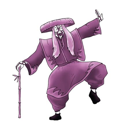 kabuki: creative kabuki character