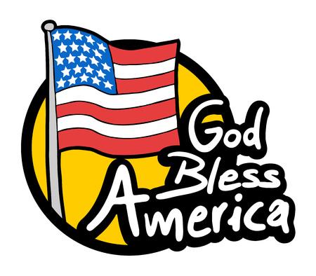 god bless: God Bless America icon