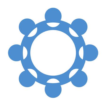 modern innovative: circle icon