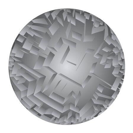 modern innovative: circle symbol Illustration