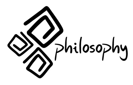 philosophy: Philosophy symbol Illustration
