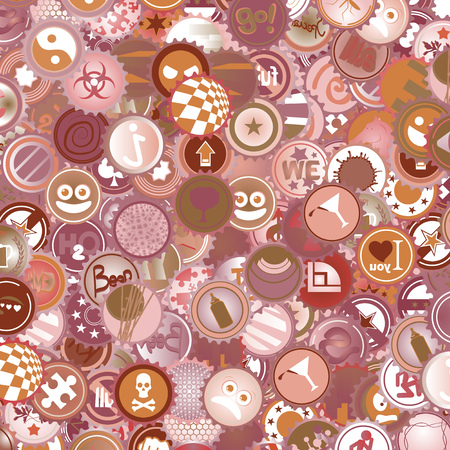 imaginative: Imaginative background Illustration