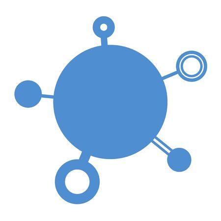 original circular abstract: circle symbol Illustration