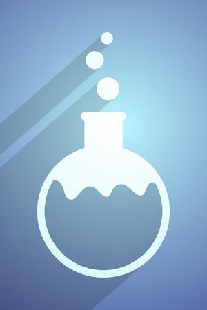 symbole chimique: symbole chimique Illustration