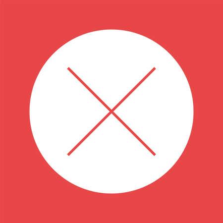 no pase: no pass icon