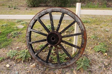 cartwheel: western cart wheel