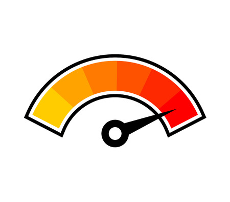 symbole de température chaude